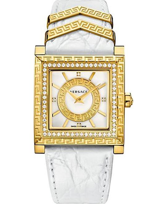 Versace DV-25 Diamond Gold IP Watch 36mm