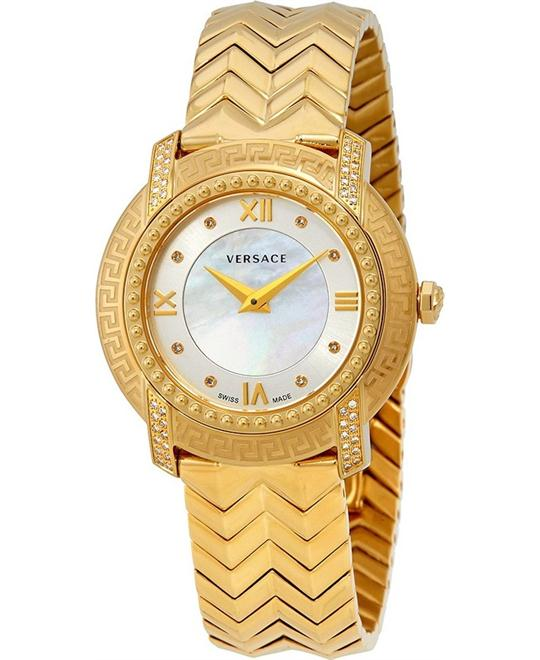 VERSACE DV 25 Gold-Tone Ladies Watch 36mm