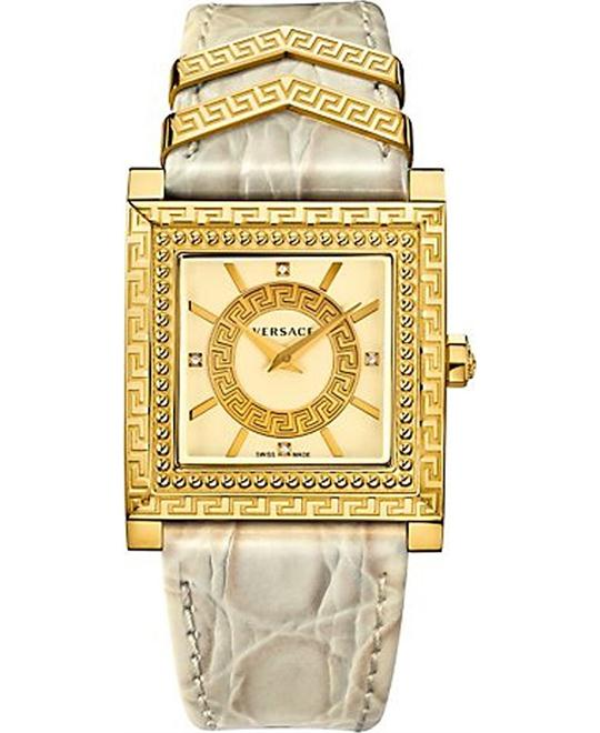 VERSACE DV-25 Ladies Leather Watch 30mm