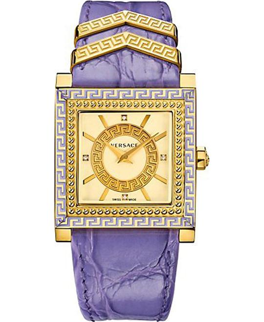 VERSACE DV-25 Ladies Purple Watch 30mm