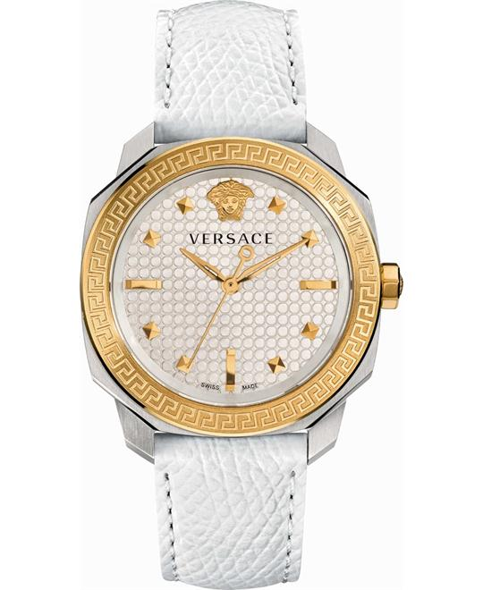 VERSACE Dylos Silver Ladies Watch 35mm