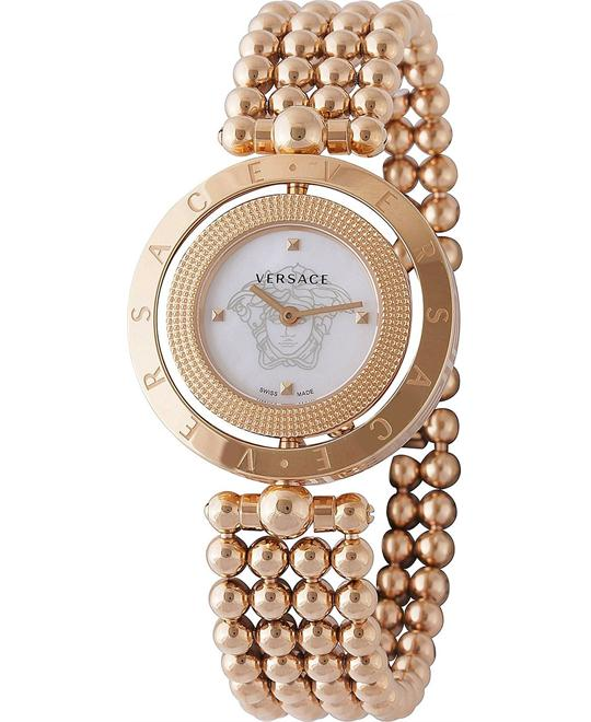 VERSACE Eon Mother of Pearl Gold Watch 33.5mm