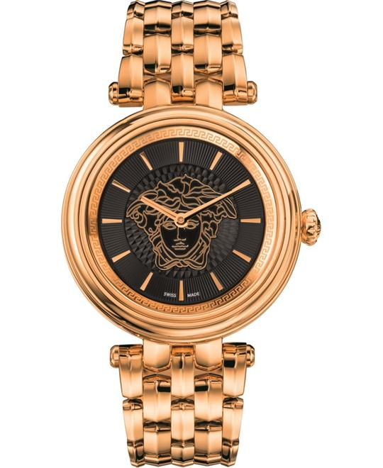Versace KHAI Swiss Quartz Gold Watch 38mm