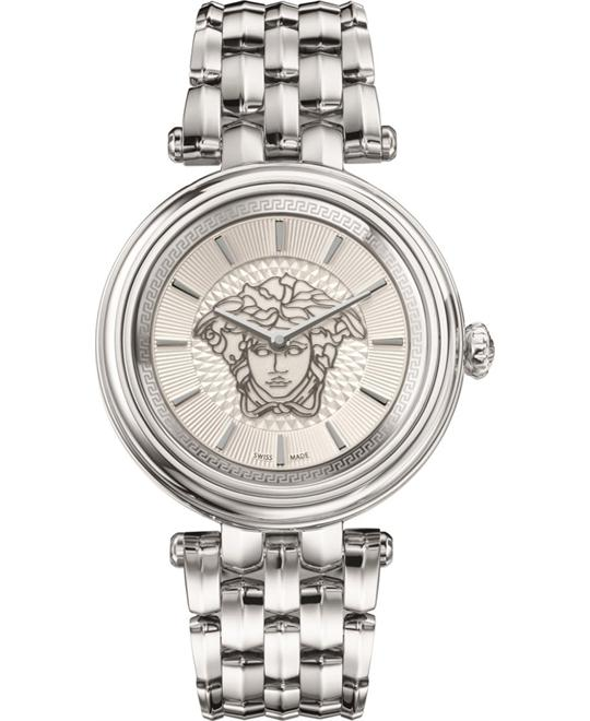 Versace KHAI Swiss Quartz Medusa Watch 38mm