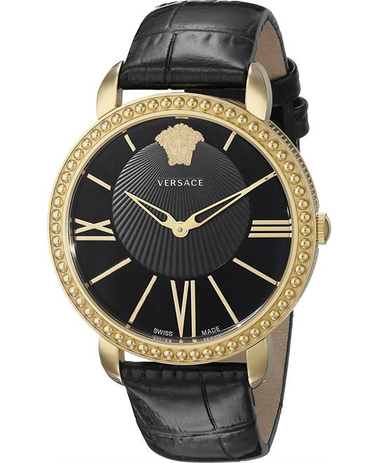 Versace Krios Gold Ion-Plated Watch 37mm