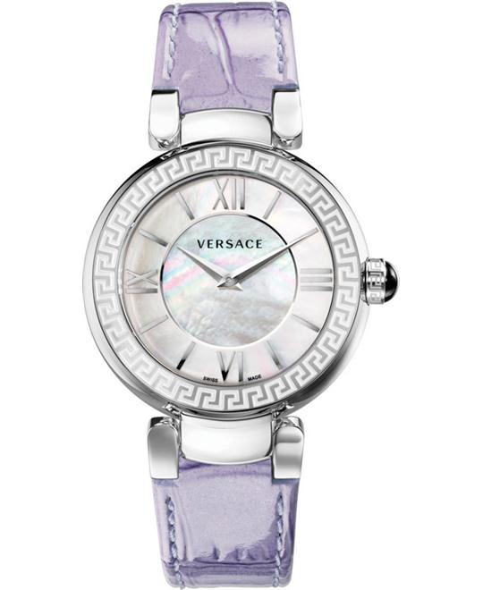 Versace Leda Swiss Quartz Purple Watch 38mm