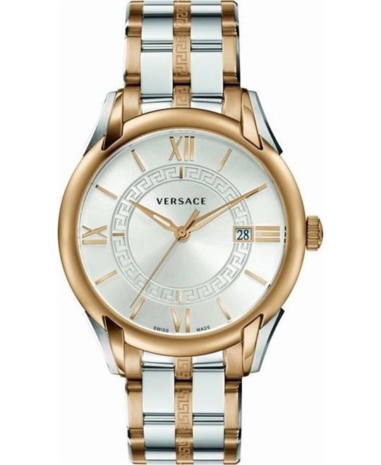 Versace Men's 'APOLLO' Swiss Quartz Watch 42mm