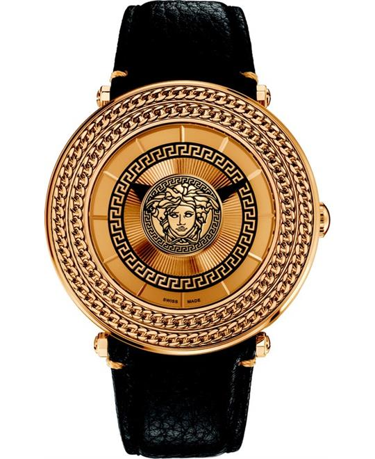 Versace Men's V-Metal Icon Swiss Watch 46mm