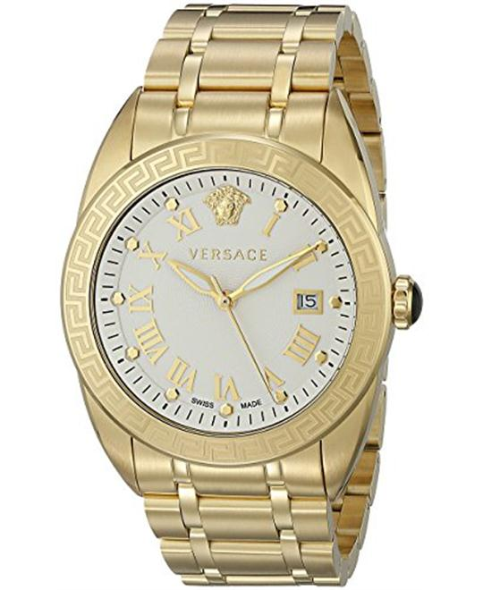 Versace Men's V-Sport Analog Display Quartz Gold Watch 42mm