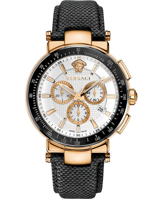 Versace Mystique Chronograph Tachymeter Men's Watch 46mm