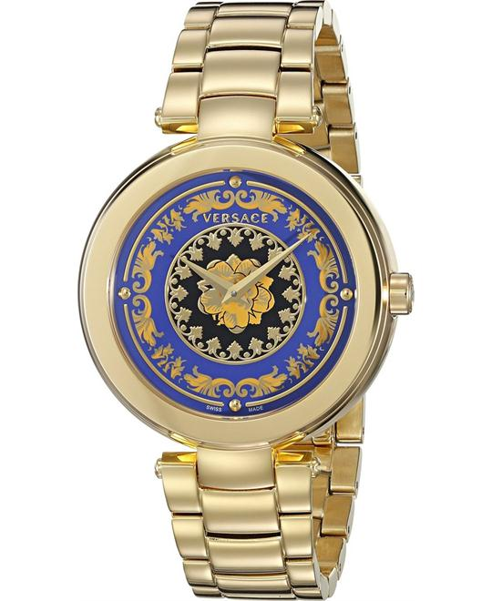 Versace MYSTIQUE FOULARD Gold Watch 36mm
