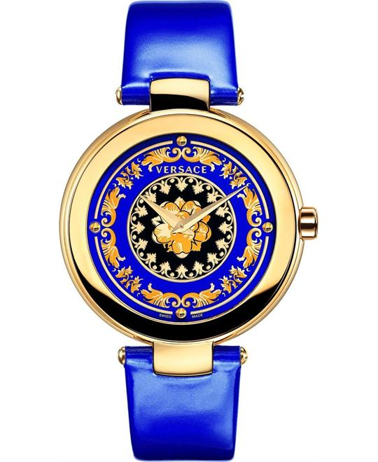 Versace Mystique Foulard Swiss Blue Watch 36mm