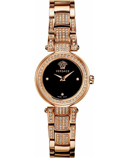 Versace Mystique Gold Ion-Plated Diamond 25mm