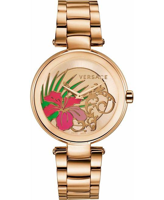 Versace Mystique Gold Watch 38mm