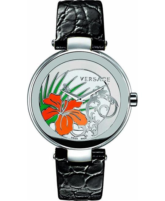 VERSACE Mystique Hibiscus Ladies Watch 38mm