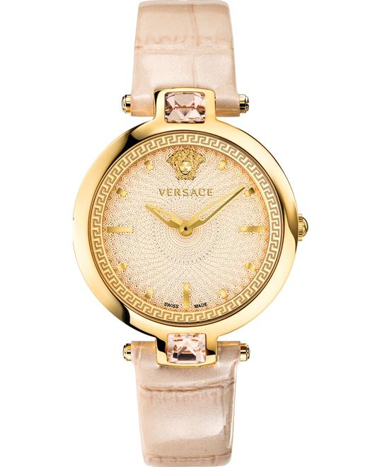 Versace OLYMPO Crystal Gleam Swiss Watch 37mm