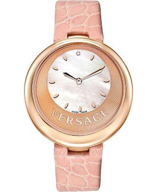 Versace Perpetuelle Sunray Dial Watch 40mm