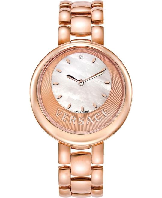 Versace Perpetuelle Sunray Diamond Watch 40MM