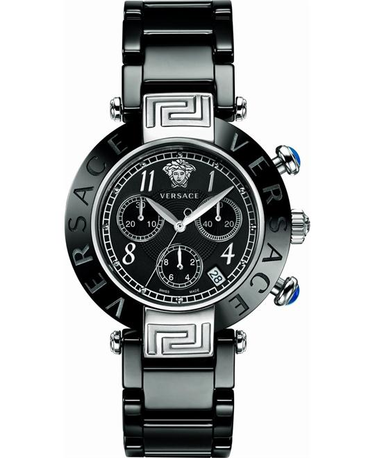 Versace Reve Ceramic Chronograph Watch 40mm
