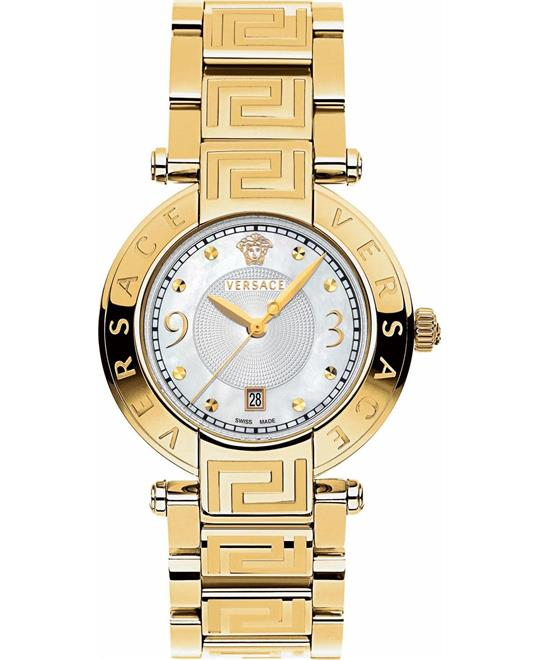 "Versace ""Reve"" Gold-Plated Women's Watch 35mm"