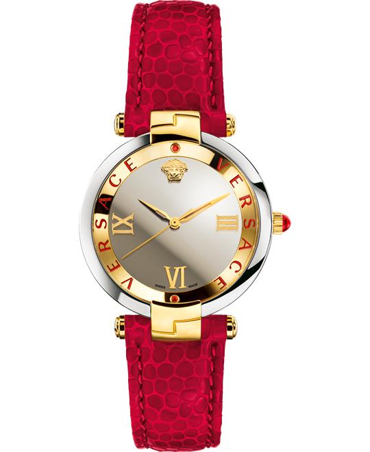 VERSACE RÊVIVE RED WATCH 35MM