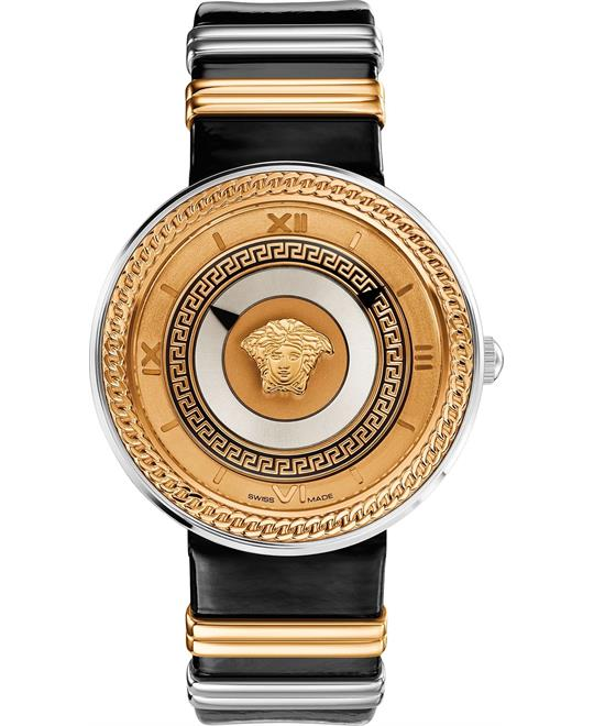 Versace V-METAL ICON Unisex Swiss Watch 40mm
