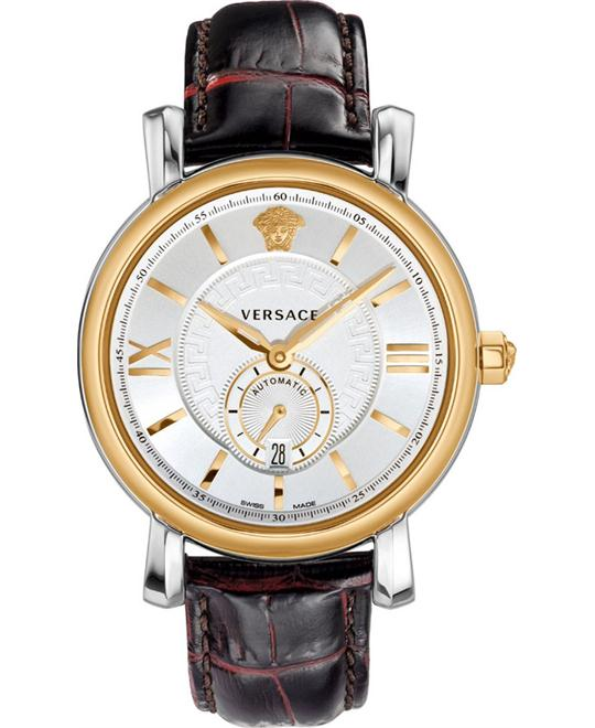 Versace Urban Gent Gold Automatic Watch 44mm