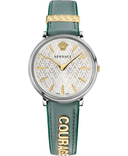 Versace V-circle Manifesto Edition Watch 38mm