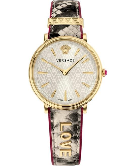 Versace V-circle Manifesto Love Watch 38mm