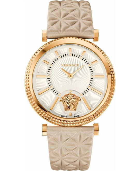 Versace V-HELIX Quartz White Watch 38mm