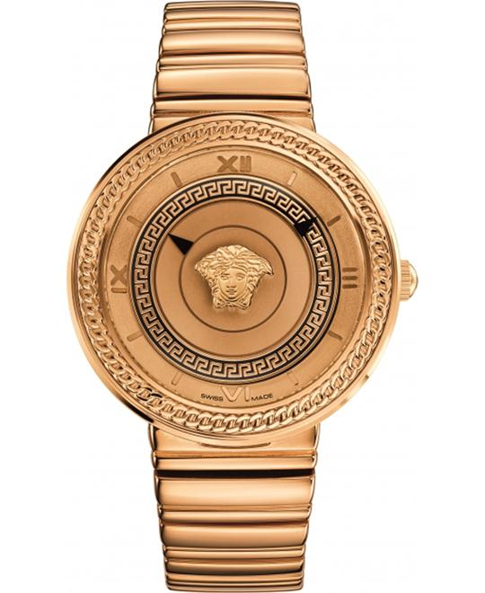 VERSACE V-Metal Gold Watch 40mm
