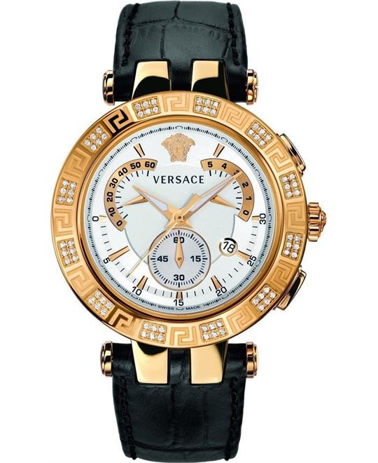Versace V-RACE CHRONO Swiss Quartz Men's Watch 42mm