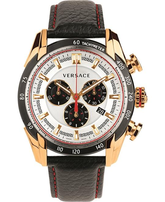 Versace V-Ray Analog Black Men's Watch