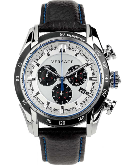 Versace V-Ray Chronograph Date Watch 44mm