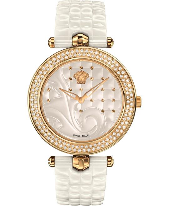 Versace Vanitas Ceramic Diamonds Watch 30mm