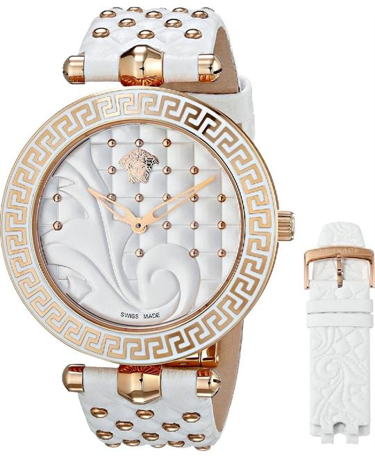 Versace Vanitas Coated Women's Watch Set 40mm