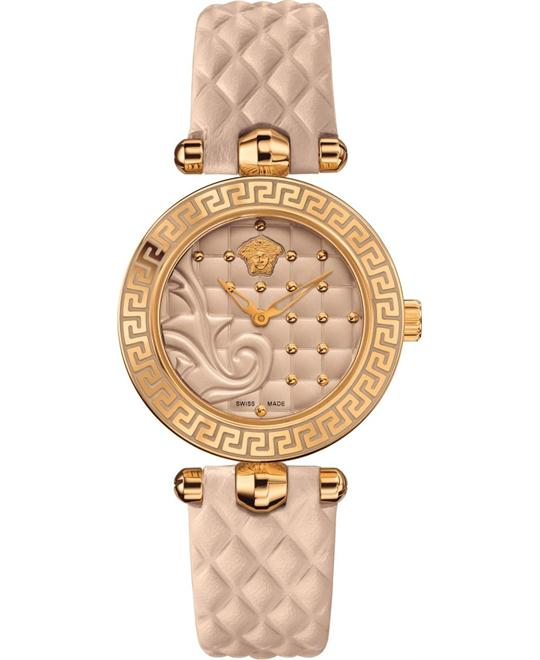 Versace Vanitas Micro Swiss Beige Watch 30mm