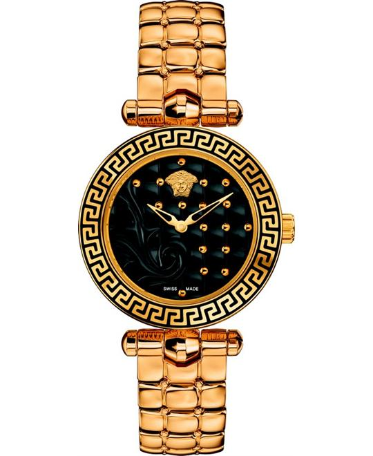 Versace Vanitas Micro Swiss Gold Watch 30mm