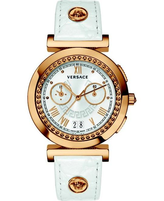 Versace Vanity Chrono Chronograph Watch 40mm