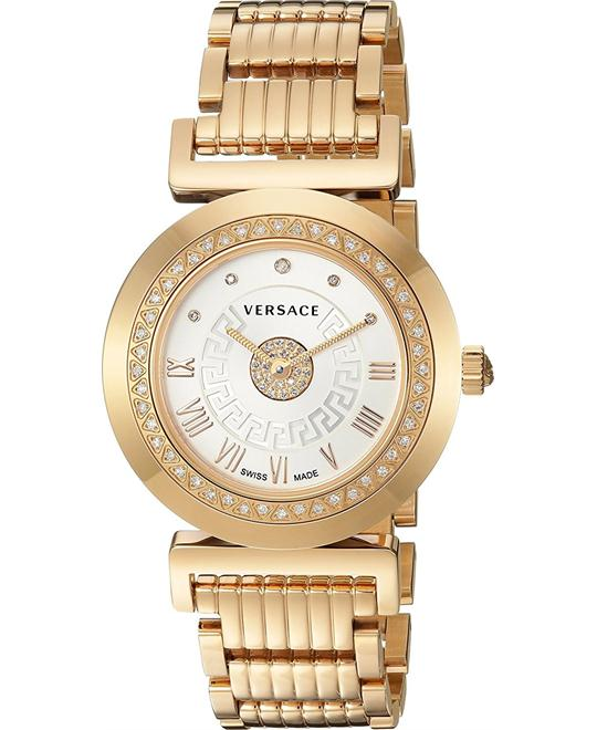 Versace Vanity Diamond Precious Swiss Watch 35mm