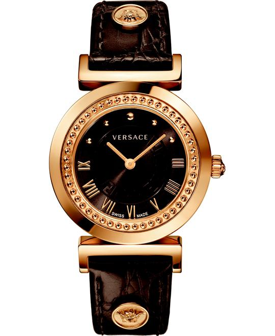 Versace Vanity Gold Ion-Women's Watch 35mm