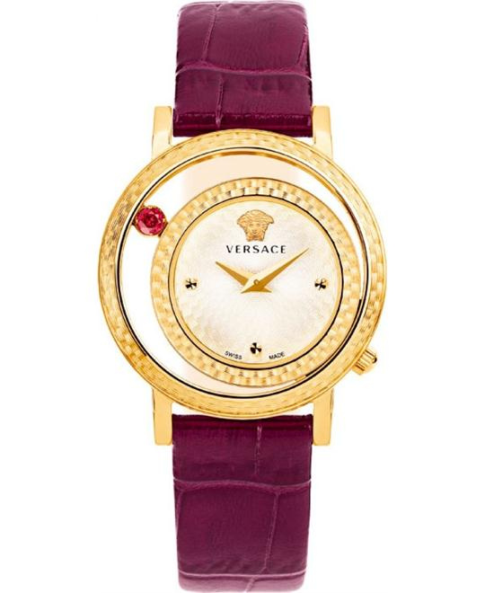Versace Venus Quartz Purple Watch 33mm
