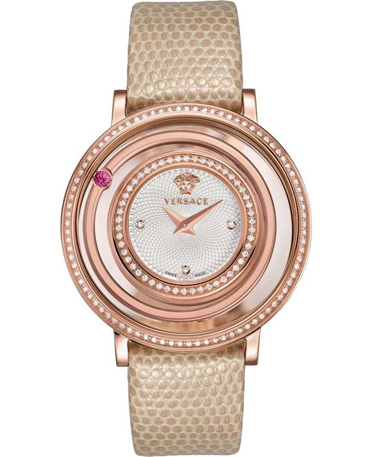 Versace Venus Rose Gold  Diamond Watch 39mm
