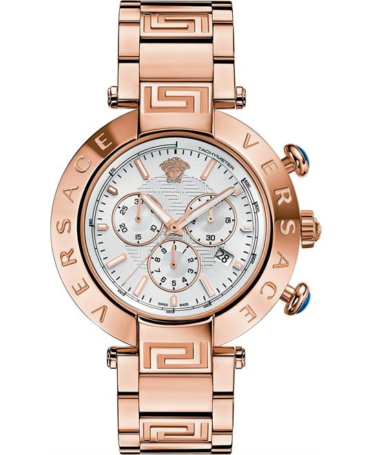 Versace Reve Chrono Swiss Unisex Watch 46mm