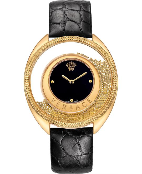 "Versace ""Destiny Spirit"" Gold-Plated Women's Watch 39mm"