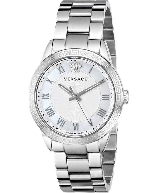 Versace Pair Stainless Steel Watch 34mm