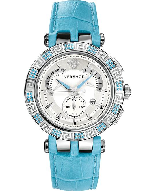Versace V-RACE CHRONO Swiss Watch 42mm