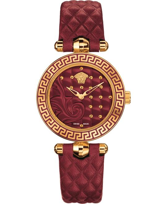 Versace Vanitas Micro Swiss Red Watch 30mm