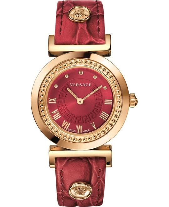 Versace Vanity Gold Ion-Plated Watch 35mm