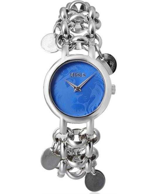 Versus Agadir Blue Stainless Steel Watch 36mm